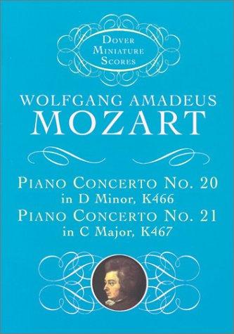 Piano Concerto No. 20, K466, and Piano Concerto No. 21, K467  N/A edition cover