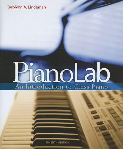 PianoLab An Introduction to Class Piano 7th 2012 edition cover