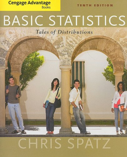 Basic Statistics Tales of Distributions 10th 2011 edition cover