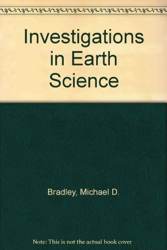 Investigations in Earth Science  Revised  9780757560682 Front Cover