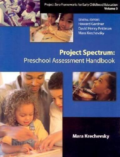 Project Spectrum Preschool Assessment Handbook  1998 edition cover