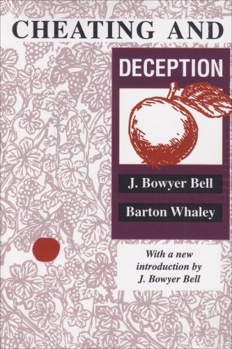 Cheating and Deception   1991 (Revised) 9780887388682 Front Cover