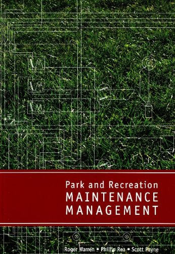 Park and Recreation Maintenance Management   2007 edition cover