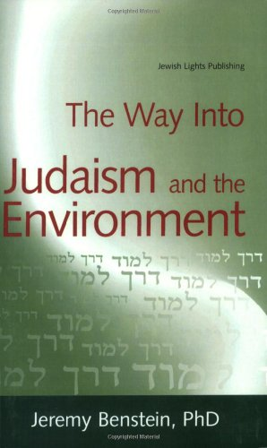 Way into Judaism and the Environment   2008 edition cover