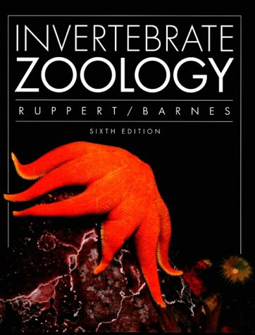 Invertebrate Zoology  6th 1994 edition cover