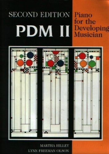 Piano for the Developing Musician  2nd 1992 (Revised) edition cover