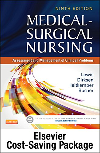 Medical-Surgical Nursing + Elsevier Adaptive Quizzing:   2013 9780323249683 Front Cover