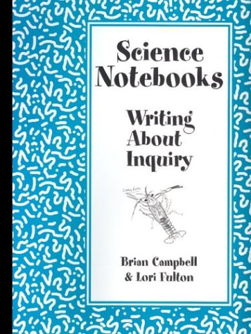 Science Notebooks Writing about Inquiry  2003 edition cover