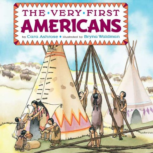 Very First Americans   1993 edition cover