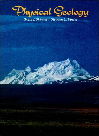 Physical Geology   1987 edition cover