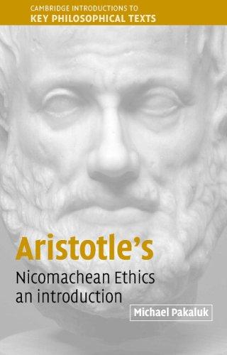 Aristotle's Nicomachean Ethics An Introduction  2005 edition cover