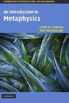 Introduction to Metaphysics   2010 edition cover