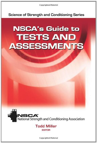 NSCA's Guide to Tests and Assessments   2012 edition cover