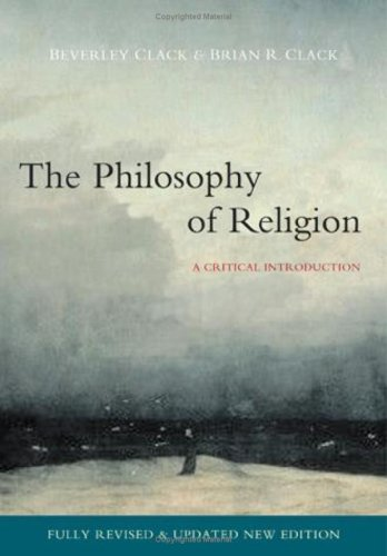 Philosophy of Religion A Critical Introduction 2nd 2008 (Revised) edition cover