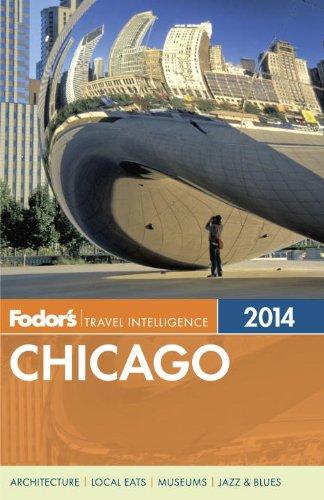 Fodor's Chicago   2013 edition cover