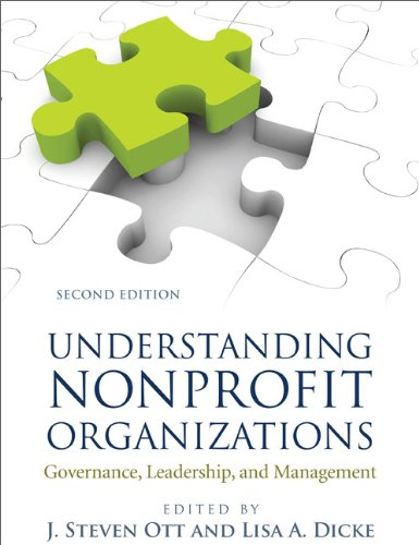 Understanding Nonprofit Organizations Governance, Leadership, and Management 2nd edition cover