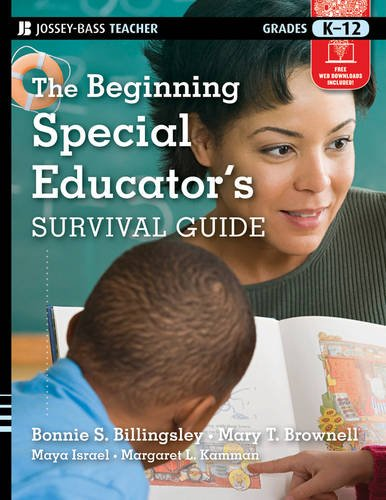 Survival Guide for New Special Educators   2012 edition cover