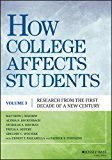 How College Affects Students 21st Century Evidence That Higher Education Works  2016 9781118462683 Front Cover