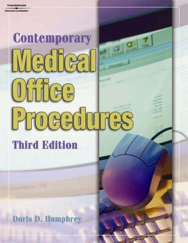 Contemporary Medical Office Procedures  3rd 2004 (Student Manual, Study Guide, etc.) 9781401870683 Front Cover