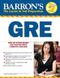 Barron's GRE, 21st Edition  21st 2015 (Revised) edition cover