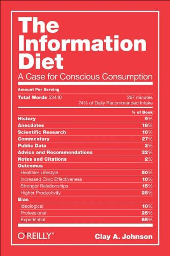 Information Diet A Case for Conscious Consumption  2012 edition cover