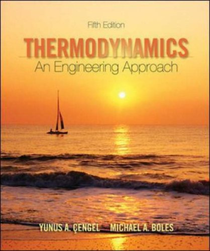 Thermodynamics An Engineering Approach 5th 2006 edition cover