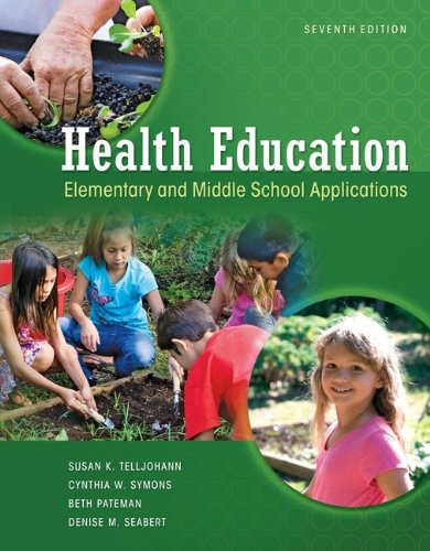 Health Education Elementary and Middle School Applications 7th 2012 9780073529684 Front Cover