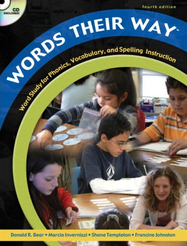 Words Their Way Word Study for Phonics, Vocabulary, and Spelling Instruction 4th 2008 edition cover