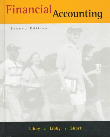 Financial Accounting 2nd 1998 9780256245684 Front Cover