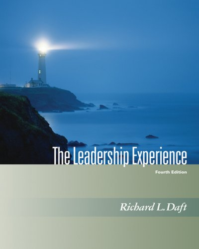 Leadership Experience  4th 2008 edition cover