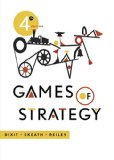 Games of Strategy  4th 2015 edition cover