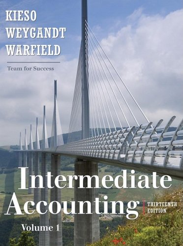 Rockford Practice Set to Accompany Intermediate Accounting  13th 2010 edition cover
