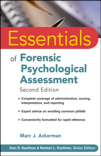 Essentials of Forensic Psychological Assessment  2nd 2010 edition cover