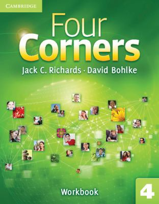 Four Corners Level 4 Workbook   2011 9780521127684 Front Cover