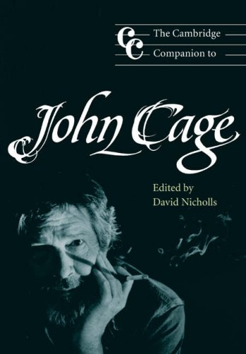 Cambridge Companion to John Cage   2002 edition cover