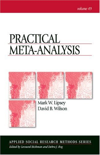 Practical Meta-Analysis   2000 edition cover