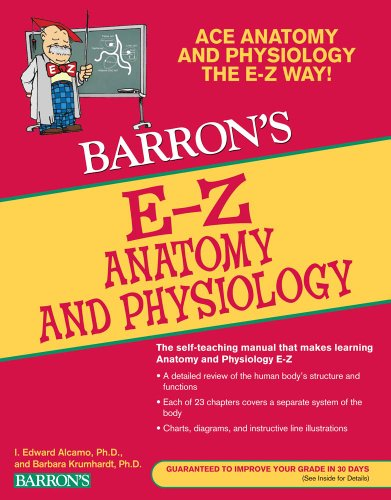 E-Z Anatomy and Physiology  3rd 2010 (Revised) edition cover