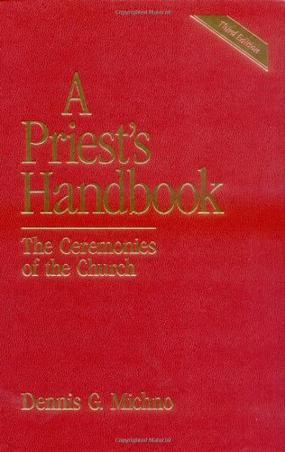 Priest's Handbook The Ceremonies of the Church 3rd (Revised) edition cover