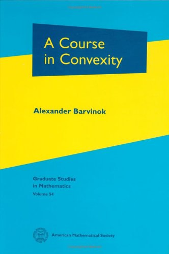 Course in Convexity   2002 edition cover