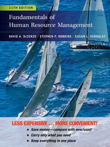 Fundamentals of Human Resource Management:   2012 edition cover