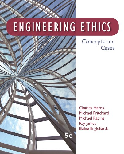 Engineering Ethics Concepts and Cases 5th 2014 9781133934684 Front Cover