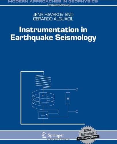 Instrumentation in Earthquake Seismology   2004 edition cover