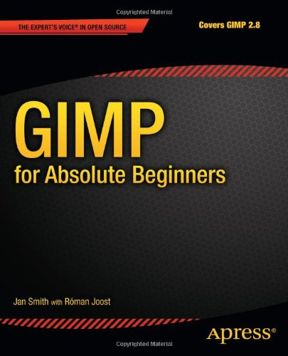 GIMP for Absolute Beginners   2012 edition cover