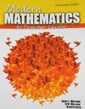 Modern Mathematics for Elementary Educators  14th (Revised) edition cover