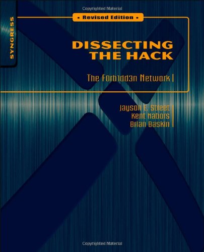 Dissecting the Hack The F0rb1dd3n Network  2010 (Revised) edition cover