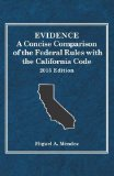 Evidence, a Concise Comparison of the Federal Rules with the California Code 2015  2015th 2015 edition cover