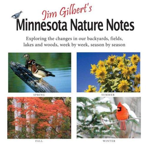 Jim Gilbert's Minnesota Nature Notes   2008 edition cover
