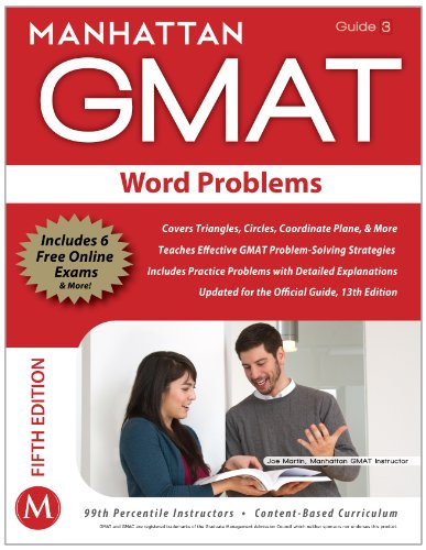 GMAT Word Problems  5th (Revised) 9781935707684 Front Cover