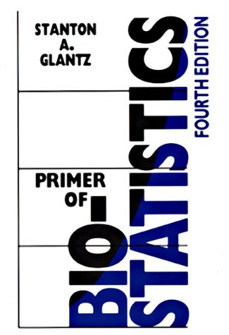 Primer of Biostatistics  4th 1997 9780070242685 Front Cover