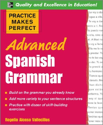 Advanced Spanish Grammar   2008 edition cover
